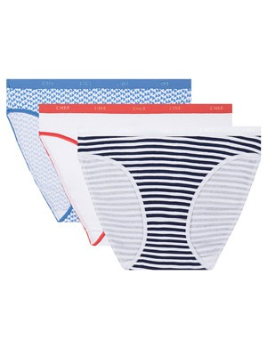 DIM Γυναικεία Σλιπς Les Pockets Cotton 8ZA - Βαμβακερά - Πακέτο με 3 - Καλοκαίρι 2020