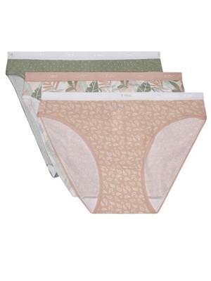 DIM Γυναικεία Σλιπς Les Pockets Cotton 9TR - Βαμβακερά - Πακέτο με 3 - Καλοκαίρι 2021