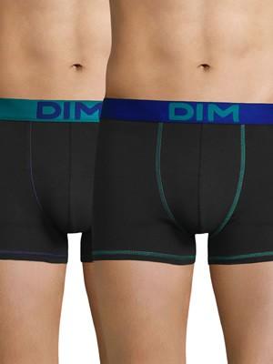 DIM Ανδρικό Boxer 6W0 - Cotton Stretch - Ελαστικό Βαμβάκι - Πακέτο με 2