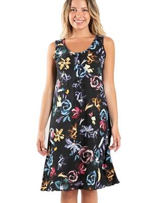 Νυχτικό ΓΙΩΤΑ Homewear - 100% Βαμβακερό - Floral Σχέδιο & Κουμπιά - Καλοκαίρι 2020