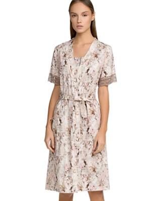 Ρόμπα ΓΙΩΤΑ Homewear - 100% Βαμβακερή - Floral Σχέδιο - Καλοκαίρι 2021