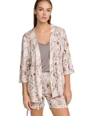 Πυτζάμα ΓΙΩΤΑ Homewear Set 3 Τεμαχίων - 100% Βαμβακερή - Floral Σχέδιο - Καλοκαίρι 2021