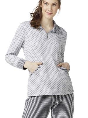 Πυτζάμα Πολυτελείας Γιώτα Homewear – Γεμάτο ύφασμα – Extra Ζεστή & Απαλή