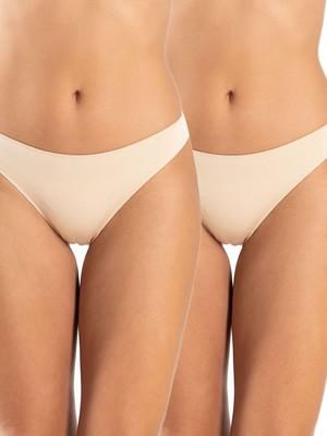 Σλιπ Bikini GKAPETANIS Κανονικό - Απαλό Bamboo - 2 Τεμάχια - Χειμώνας 2020/21