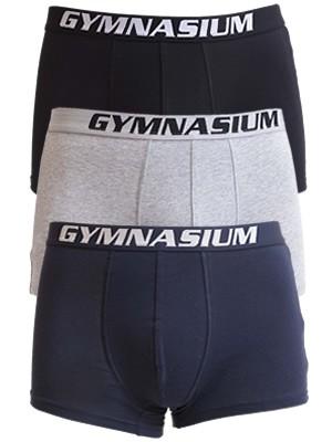 Ανδρικά Boxer Gymnasium - Ελαστικό & Απαλό Βαμβάκι - 3 τεμάχια