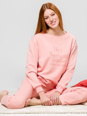 Φόρμα Homewear Γυναικεία HARMONY - Extra Ζεστή & Απαλή -Χειμώνας 2021/22