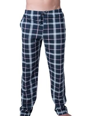 Ανδρικό Παντελόνι Homewear Harmony - 100% Βαμβακερό - Καρό Σχέδιο