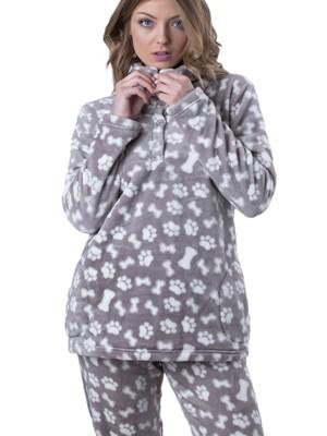 Πυτζάμα Πολυτελείας KARE - Ζεστό  Fleece - All Over Σχέδιο - Hot Pick 19/20