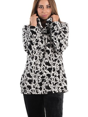 Πυτζάμα Πολυτελείας KARE- Ζεστό  Fleece - All Over Σχέδιο - Smart Pick 19/20