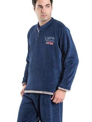 Ανδρική Πυτζάμα Homewear KARE - Ζεστό & Απαλό Fleece - Χειμώνας 2019/20