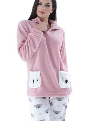Πυτζάμα Homewear Karelpiu - Ζεστό & Απαλό Fleece