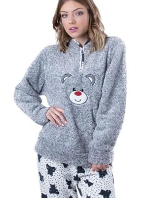 Πυτζάμα Homewear Karelpiu 5328 - Απαλό & Ζεστό Fleece - Χειμώνας 18/19