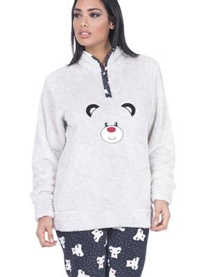 Πυτζάμα Homewear Karelpiu - Απαλό & Ζεστό Fleece - Χειμώνας 2018/19