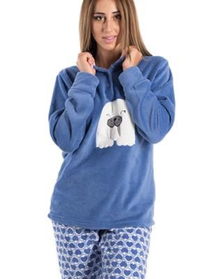 Πυτζάμα Homewear KARELPIU 5331 - Απαλό & Ζεστό Fleece - Smart Pick 19/20