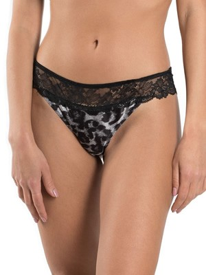 LORMAR Brazilian Slip Jungle - Animal Print & Δαντέλα - Valentne 2020