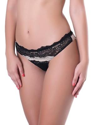 Brasilian Σλιπ Lormar Look -  Απαλή Δαντέλα - Χωρίς Λάστιχα Πίσω