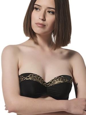 Μαγιό LUNA Marilyn Strapless για Μεγάλο Στήθος - Ενίσχυση & Μπανέλα
