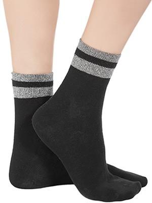 Γυναικεία Κάλτσα Βαμβακερή Meritex - Lurex Σχέδιο