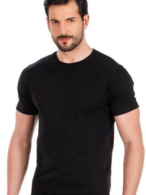 MINERVA Αντρική Μπλούζα T-Shirt σε Φαρδιά Γραμμή - 100% Βαμβακερή