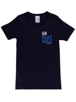 MINERVA Παιδικό Εφηβικό T-shirt Unbeatable - 100% Βαμβάκι - Χειμώνας 2020/21