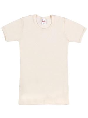 MINERVA Παιδική Μάλλινη Φανέλα με Κοντό Μανίκι - 100% Αγνό Μαλλί