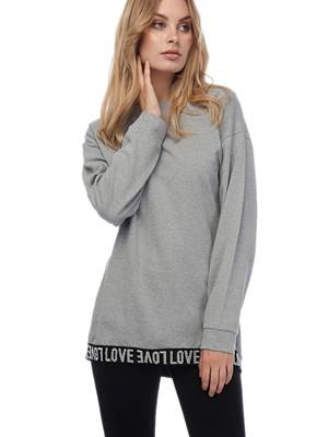MINERVA Πυτζάμα Γυναικεία Love - Φούτερ Μπλούζα Ζεστή - Κολάν Παντελόνι - Χειμώνας 2019/20
