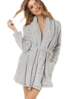 Ρόμπα Γυναικεία MINERVA - Γούνινο Look - Ζεστό & Απαλό Fleece - Χειμώνας 2020/21