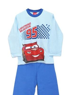Παιδική Πυτζάμα Minerva McQueen Cars - 100% Aγνό  Βαμβάκι Interlock - Hot Pick 18/19