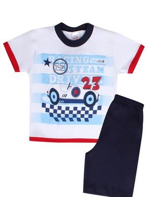 Βρεφική Πυτζάμα MINERVA Racing - 100% Αγνό Βαμβάκι - Hot Pick SS19