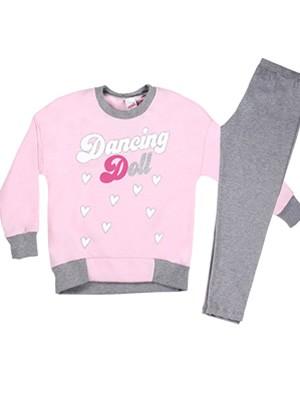 Παιδική Πυτζάμα MINERVA Dancing Mood - Sport Μπλούζα - Κολάν Παντελόνι - Stay Home 2020