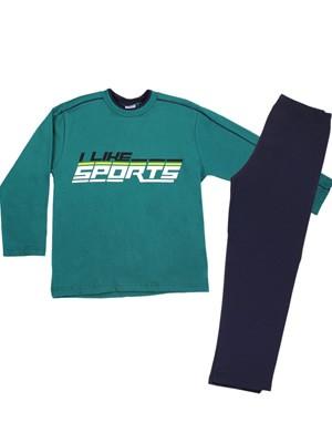 Παιδική Πυτζάμα MINERVA I Like Sports - 100% Aγνό Βαμβάκι - Smart Choice FW20/21
