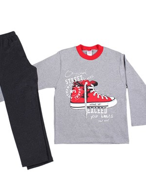 Παιδική - Εφηβική Πυτζάμα MINERVA Street Shoes - Φούτερ Επένδυση - Back To School FW20/21