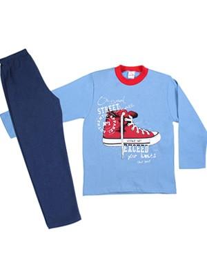 MINERVA Παιδική - Εφηβική Πυτζάμα Street Shoes - Φούτερ Επένδυση - Back To School FW20/21