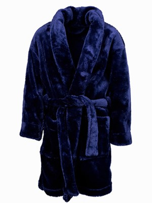 Παιδική Ρόμπα MINERVA Fleece για αγόρι - Ζεστή & Απαλή - Χειμώνας 2019/20