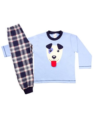 Βρεφική Πυτζάμα MINERVA για αγόρι DOGGY - 100% Aγνό Βαμβάκι - Χειμώνας 2020/21