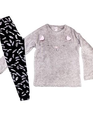 Παιδική Πυτζάμα MINERVA Wings - Γούνινο Fleece & Βαμβάκι - Χειμώνας 2020/21