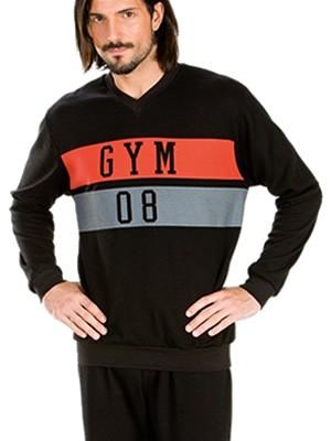Πυτζάμα Πολυτελείας Minerva Gym - 100% Γεμάτο Βαμβάκι Interlock - Sports Style