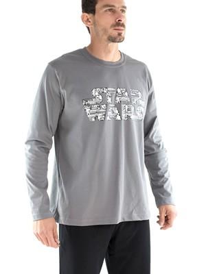 Πυτζάμα Minerva Star Wars - 100% Βαμβάκι Interlock - Μεταξοτυπία