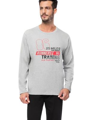 Ανδρική Πυτζάμα MINERVA Runners - 100% Βαμβάκι Interlock - Χειμώνας 2019/20