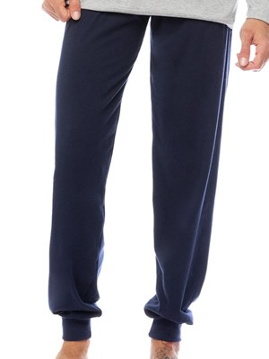 MINERVA Ανδρικό Παντελόνι Homewear - 100% Βαμβάκι Interlock