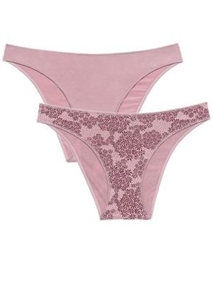 MINERVA Slip Bikini Χαμηλό 834 - Απαλό Modal - 2 Τεμάχια - Καλοκαίρι 2021