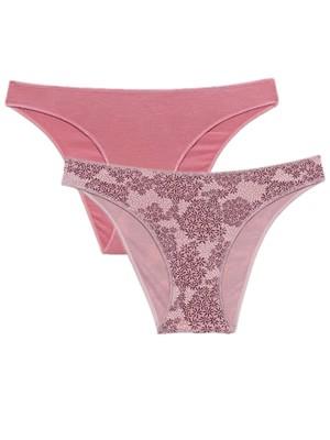 MINERVA Slip Bikini Χαμηλό 835 - Απαλό Modal - 2 Τεμάχια - Καλοκαίρι 2021