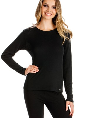 Minerva Set Γυναικεία Ισοθερμική Μπλούζα με Μακρύ Μανίκι & Κολάν