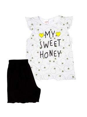 Παιδική Πυτζάμα MINERVA Bows & Bees - 100% Αγνό Βαμβάκι-Smart Choice SS21