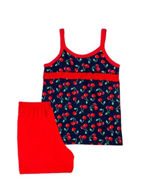 MINERVA Παιδική Πυτζάμα Tutti Frutti - 100% Αγνό Βαμβάκι - Καλοκαίρι 2020