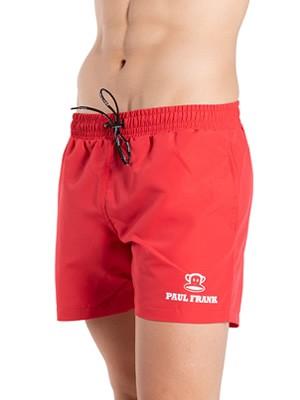 Αντρικό Μαγιό PAUL FRANK Red - Σορτς Κοντό - Logo