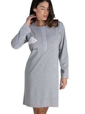 Γυναικείο Νυχτικό RACHEL - 100% Βαμβακερό - Νέα Μαμά - Χειμώνας 2020/21