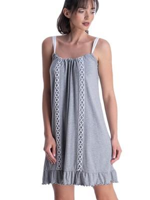 Φόρεμα RACHEL - Αέρινο Viscose Ύφασμα - Σχέδιο Κέντημα - Καλοκαίρι 2021