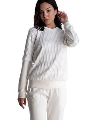 Πυτζάμα Γυναικεία RACHEL - Extra Ζεστή - Πλεκτό Σχέδιο - Χειμώνας 2021/22