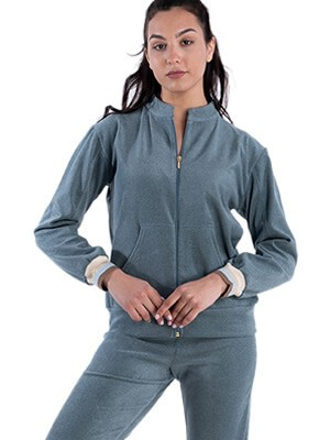 Γυναικεία Φόρμα Πιτζάμα RACHEL - Απαλό & Ζεστό Fleece - Χειμώνας 2021/22